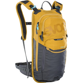 EVOC Stage Mochila Technical Performance 6l + Bolsa Hidratación 2l, loam/carbon grey